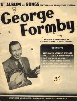 George Formby & Fred Godfrey Songbook