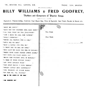 Williams & Godfrey Stationery (SSA Collection)